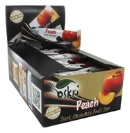 Oskri - Gluten Free Dark Chocolate Fruit Bar Peach - 20 Bars