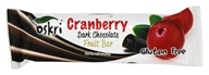 Oskri - Gluten Free Dark Chocolate Fruit Bar Cranberry - 1.58 oz.