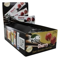 Oskri - Gluten-Free Dark Chocolate Fruit Bar Cherry - 20 Bars