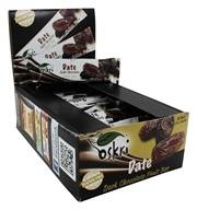Oskri - Gluten-Free Dark Chocolate Fruit Bar Date - 20 Bars
