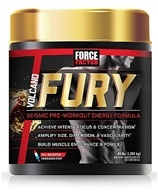 Force Factor - VolcaNO Fury Seismic Pre-Workout Energy Formula Freedom Pop - 203 Grams