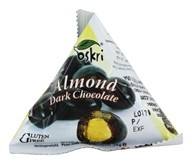 Oskri - Gluten Free Dark Chocolate Pyramid Snacks Almonds - 12 Pack