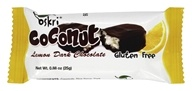 Oskri - Gluten Free Mini Coconut Bar Lemon Dark Chocolate - 0.88 oz.