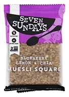 Seven Sundays - Muesli Square Blueberry Lemon & Chia - 2 oz.