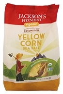 Jackson's Honest - Organic Coconut Oil Yellow Corn Tortilla Chips Sea Salt - 10 oz.