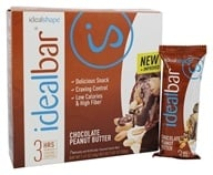 IdealShape - IdealBar Snack Bars Chocolate Peanut Butter - 7 Bars