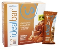 IdealShape - IdealBar Snack Bars Cinnamon Caramel Crunch - 7 Bars
