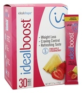 IdealShape - IdealBoost Drink Mix Stick Packs Pineapple Strawberry - 30 Pack(s)