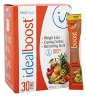 IdealShape - IdealBoost Drink Mix Stick Packs Tropical Punch - 30 Pack(s)