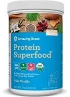 Amazing Grass - Organic Protein Superfood Shake Pure Vanilla - 12 oz.