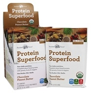 Amazing Grass - Organic Protein Superfood Shake Chocolate Peanut Butter - 10 Packet(s)