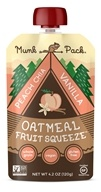 Munk Pack - Ready-to-Eat Oatmeal Fruit Squeeze Pouch Peach Chia Vanilla - 4.2 oz.