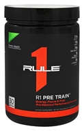 Rule One Proteins - R1 Pre Train Pre-Workout Green Apple - 10.8 oz.
