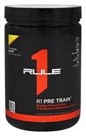 Rule One Proteins - R1 Pre Train Pre-Workout Pineapple Blast - 10.8 oz.