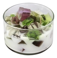 Primal Elements - Primal Delights Color Bowl Candle Lavender