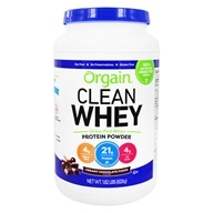 Clean Whey Grass Fed Whey Protein Powder Creamy Chocolate Fudge - 1.82 lbs.