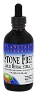 Planetary Herbals - Stone Free Liquid Herbal Extract - 4 oz.