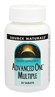 Source Naturals - Advanced One Multiple - 30 Tablet(s)