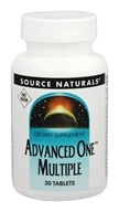 Source Naturals - Advanced One Multiple Iron Free - 30 Tablet(s)