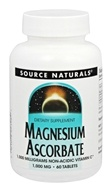 Source Naturals - Magnesium Ascorbate 1000 mg. - 60 Tablet(s)