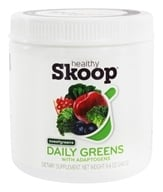 Healthy Skoop - Daily Greens with Adaptogens Drink Mix Sweetgreens - 8.4 oz.