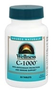 Source Naturals - Wellness C1000 - 50 Tablets