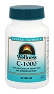 Source Naturals - Wellness C-1000 - 50 Tablets