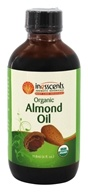 Inesscents Aromatic Botanicals - Organic Almond Oil - 4 oz.