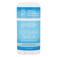 pHresh - 100% Natural Deodorant Stick Soothing Shea - 2.25 oz.