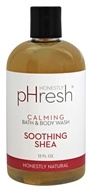 pHresh - Bath and Body Wash Calming Soothing Shea - 12 oz.