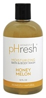 pHresh - Bath and Body Wash Moisturizing Honey Melon - 12 oz.
