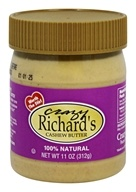 Crazy Richard's - All Natural Cashew Butter - 11 oz.