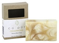 Co-Pur - Natural Bath Bar Soap Cedarwood - 4.8 oz.