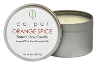 Co-Pur - Natural Soy Candle Orange Spice - 8 oz.