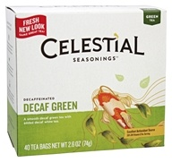 Celestial Seasonings - Decaffeinated Green Tea - 40 Tea Bags