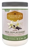Designer Protein - Sunshine Plant Based Protein Meal Replacement Vanilla - 1.19 lb.