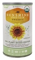 Designer Protein - Organic Sunshine Plant Based Protein Women's Wellness Blend Unflavored - 12 oz.