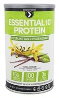 Designer Protein - Essential 10 Protein Vanilla Dream - 12 oz.