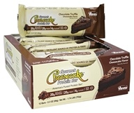ANSI (Advanced Nutrient Science) - Gourmet Cheesecake Protein Bar Chocolate Truffle Cheesecake - 12 Bars