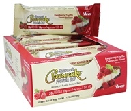 ANSI (Advanced Nutrient Science) - Gourmet Cheesecake Protein Bar Raspberry Truffle Cheesecake - 12 Bars