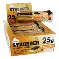 NuGo Nutrition - Stronger Protein Bars Box Peanut Cluster - 12 Bars