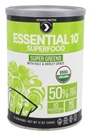 Designer Protein - Essential 10 Organic Superfood Super Greens - 12 oz.