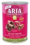 Designer Protein - Aria Vegan Women's Wellness Protein Chocolate - 12 oz.