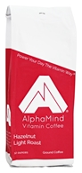 AlphaMind Vitamin Coffee - Light Roast Ground Coffee Hazelnut - 12 oz.