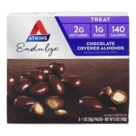 Atkins Nutritionals Inc. - Endulge Chocolate Covered Almonds - 5 Pack(s)
