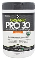 Designer Protein - Organic Pro 30 100% Plant-Based Complete Protein Chocolate - 1.29 lb.