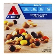 Atkins Nutritionals Inc. - Trail Mix Sweet & Salty - 5 Pack(s)