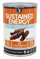 Designer Protein - Designer Whey Sustained Energy Protein Powder Chocolate Velvet - 12 oz.