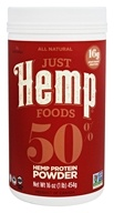 Just Hemp Foods - All Natural Hemp Protein Powder - 16 oz.