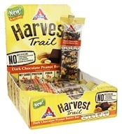 Atkins Nutritionals Inc. - Harvest Trail Bar Dark Chocolate Peanut Butter - 9 Bars